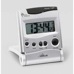 Réveil radio piloté 6.5x8cm