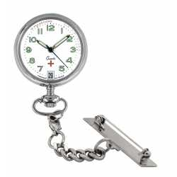 Montre Infirmiére avec broche Quartz Ronda 515 Swiss Parts EM15501