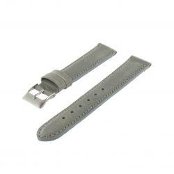 Bracelet montre Gris de 14-18 et 20mm Cuir de veau Aniline Golf EcoCuir® Artisanal