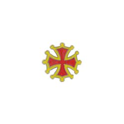 Magnet Croix Occitane symbole de l'Occitanie Made In France