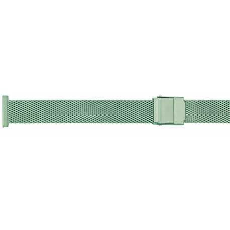 Bracelet Milanais 12mm en Acier Inoxydable Entrecorne sciable de 16mm