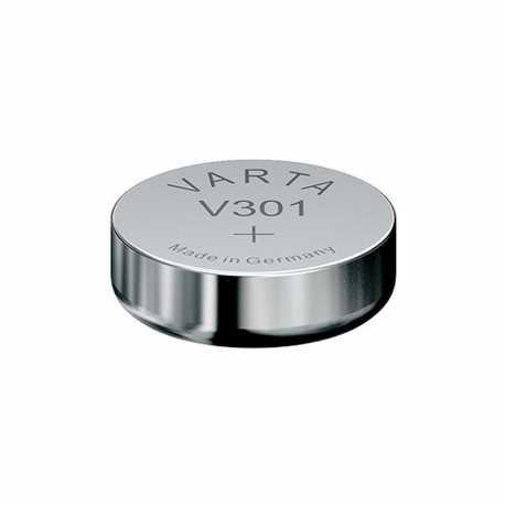 Pile de montre 301 SR43SW 1.55 Volts Oxyde d'argent Varta