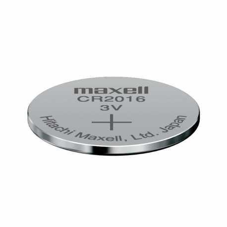 Pile bouton CR2016 Lithium 3V Maxell