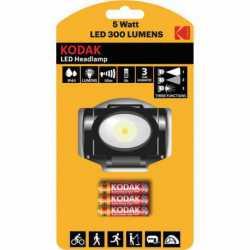 Lampe Frontale LED 300 Lumens IP44 Kodak