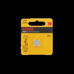 Pile LR44-V13GA-A76 Alcaline 1.5 Volts 125 mAh Kodak