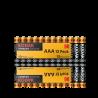 12 Piles LR03 AAA Mignon Alcaline Xtralife 1.5 Volts Kodak®