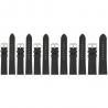 Lot de 6 Bracelets de montre Noir de 16/18/20/22mm en Cuir de Bœuf WaterProof + 6 piles Offertes