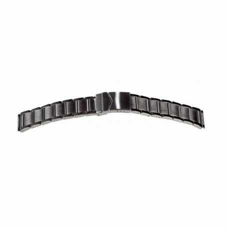 Bracelet à fermoir Sécurité Acier Brillant Stainless Stell 20mm GA 22mm 301916