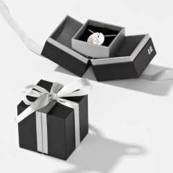 Écrin en carton Chaîne et pendentif 65x65x25mm Loft 0920061A